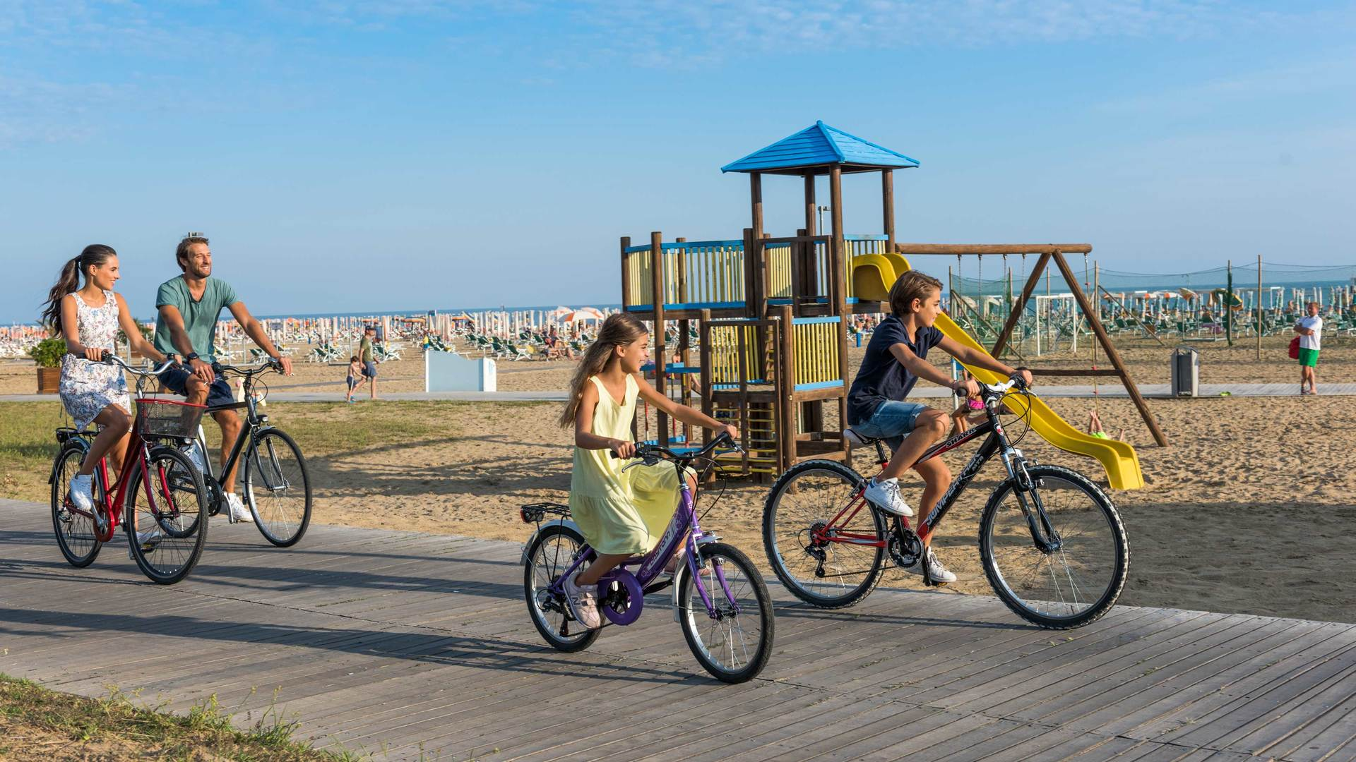 EXPERIENCE AN ACTIVE HOLIDAY IN BIBIONE