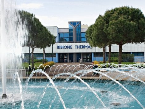 THERMAL BATHS IN BIBIONE