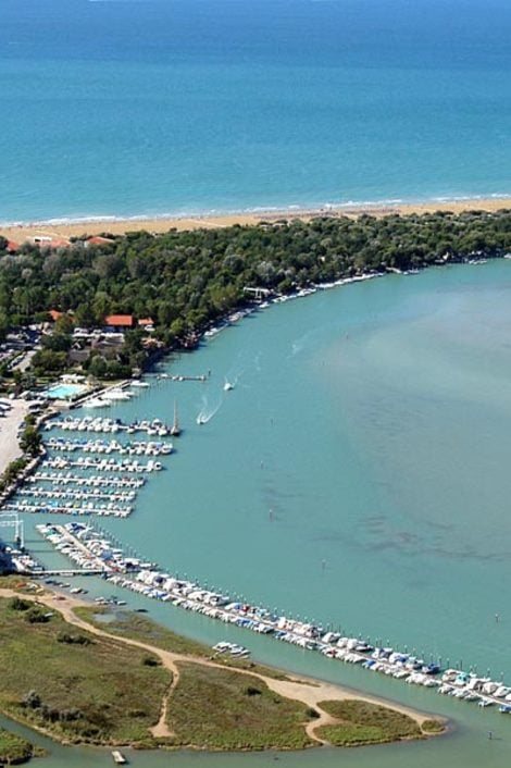Bibione and its valleys